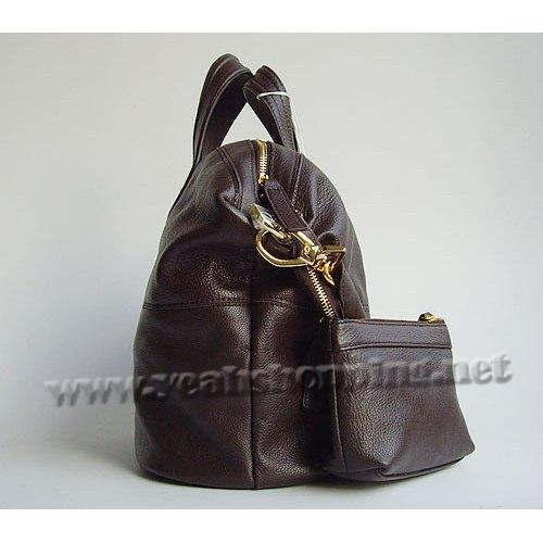 Givenchy Nightingale Satchel_Coffee Leather_8601_1