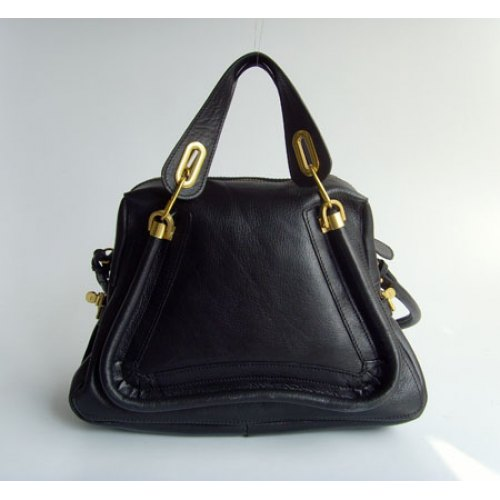 Chloe Paraty Bag_Black Leather_6260
