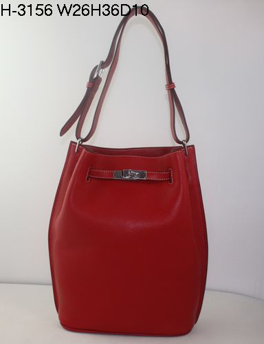 Hermes 2010 Collection Long Handbag in Red