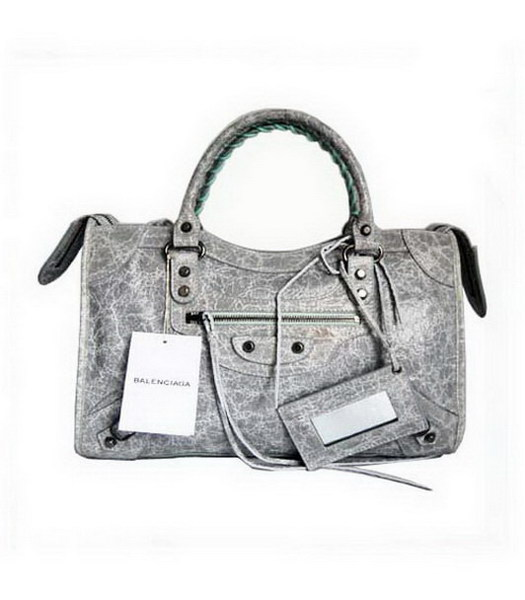 Balenciaga City Bag_Grey