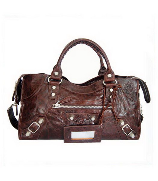 Balenciaga Giant City Handbag Coffee