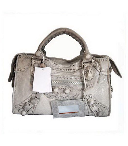 Balenciaga Covered Giant City Light Grey
