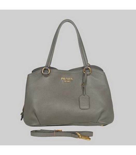 Grey Shoulder Bag 117