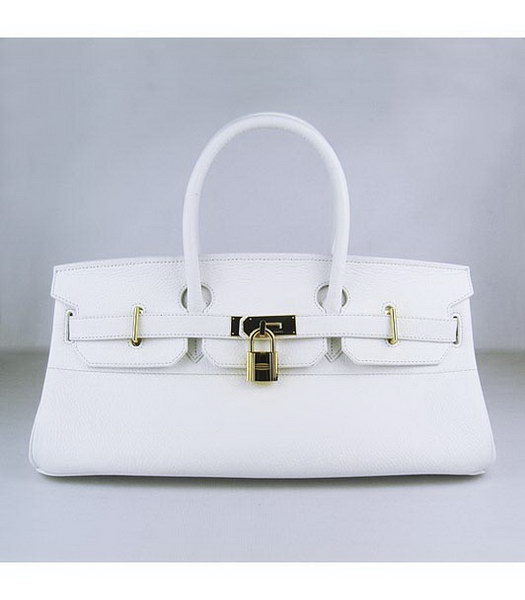 Hermes Birkin 42cm White Togo Leather Golden Metal
