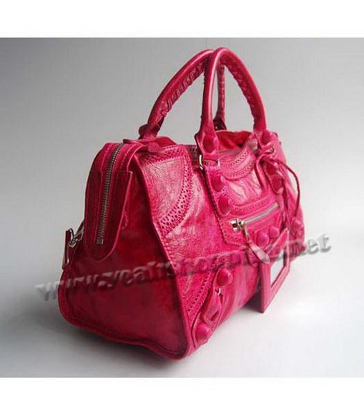 Balenciaga Covered Giant Part Time Red Large Handbag-1