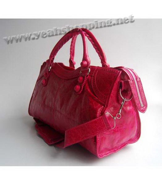 Balenciaga Covered Giant Part Time Red Large Handbag-2