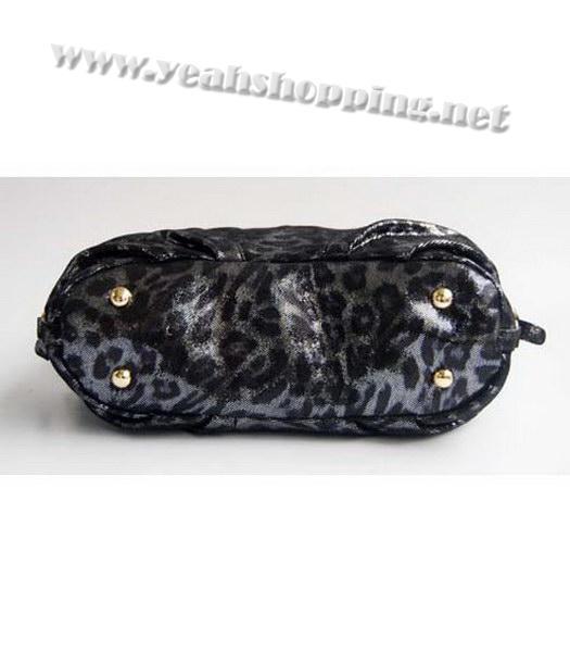 8ab670a5807 ... purchase prada tote leopard pattern bag black 4 69193 67b7c