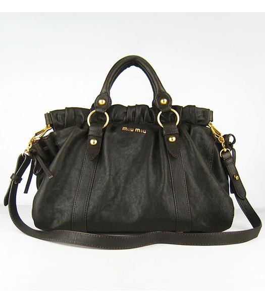 Miu Miu Leather Tote Sale