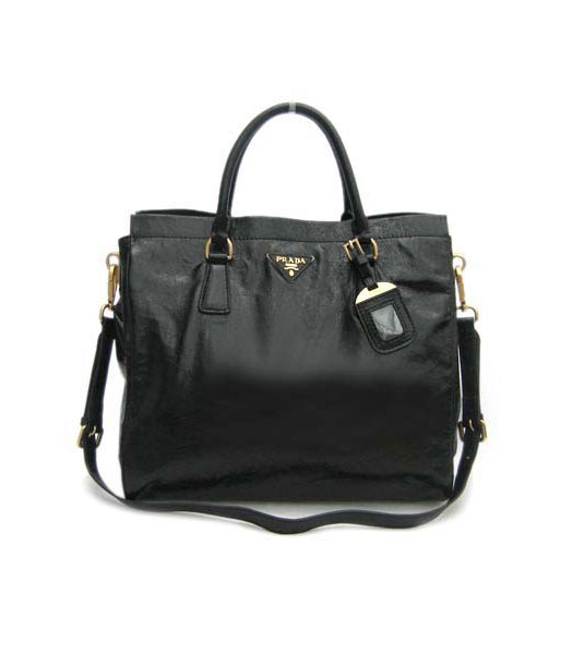 Prada Shoulder Tote Bag Black