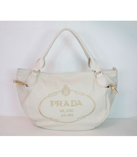 Prada Tote Bag White