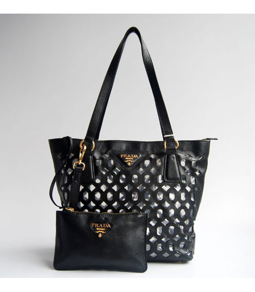 Prada Shoulder Handbag Black