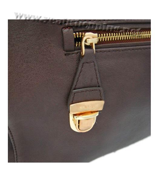 Prada Replica Cow Leather Tote Bag in Coffee_BR4288-6