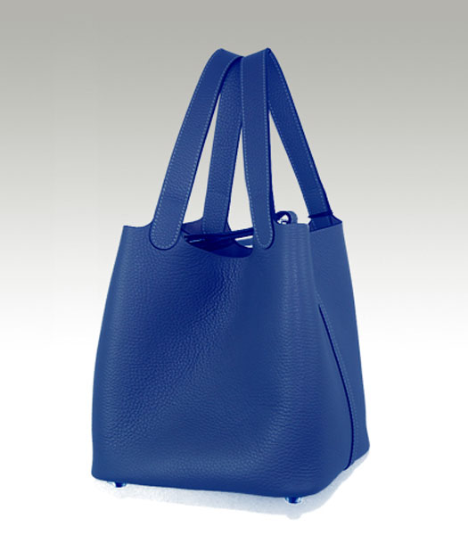 Hermes Small Picotin Lock Bag in Blue