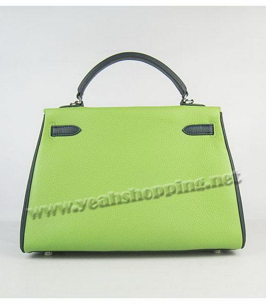 Hermes Kelly 32cm Three-color Togo Leather Silver Metal-2