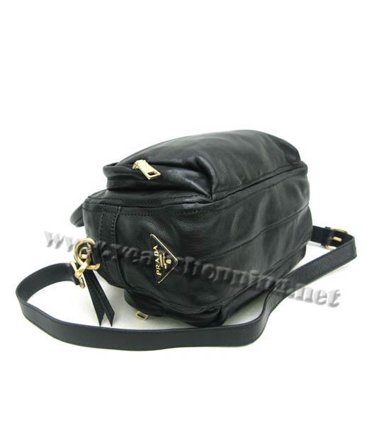 prada oil wax leather message tote bag black replica handbags. Black Bedroom Furniture Sets. Home Design Ideas