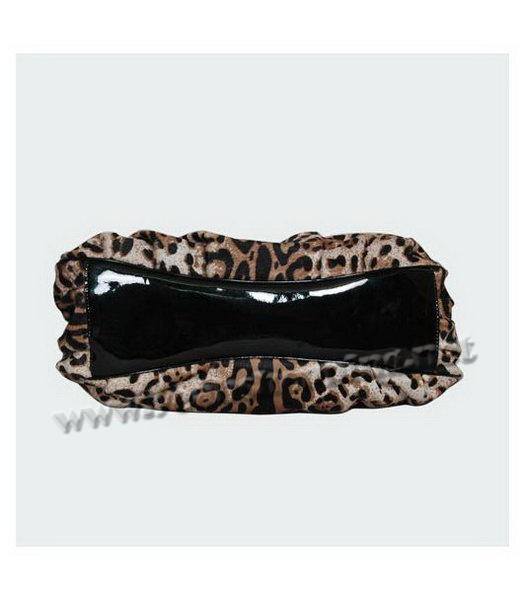 Fendi White Leopard Pattern Horsehair Tote Bag-3