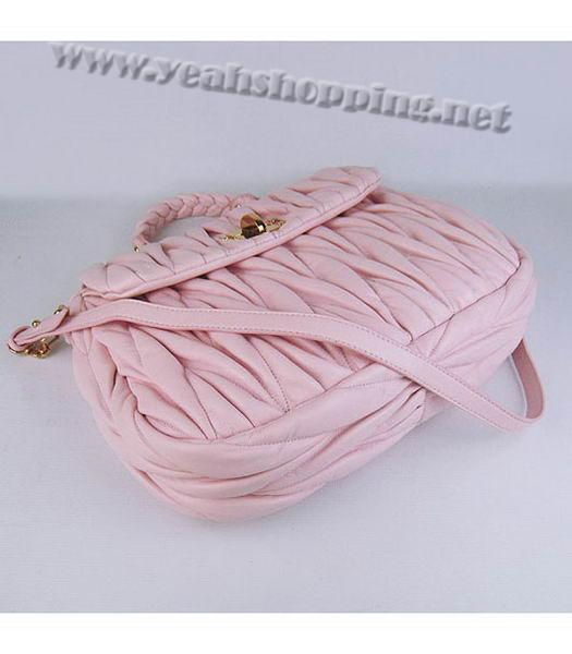 Miu Miu Quality Metalasse Medium Tote Bag in Pink-3
