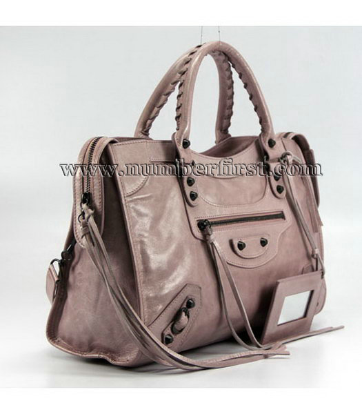 Balenciaga Motorcycle City Bag in Pink_Purple Oil-1