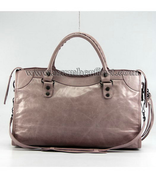 Balenciaga Motorcycle City Bag in Pink_Purple Oil-2