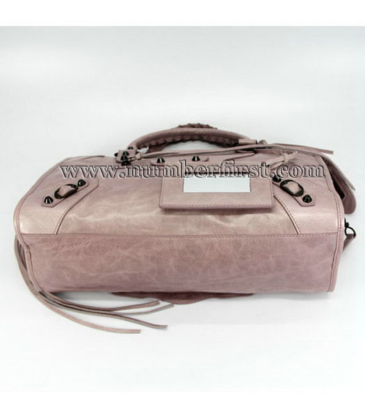 Balenciaga Motorcycle City Bag in Pink_Purple Oil-3
