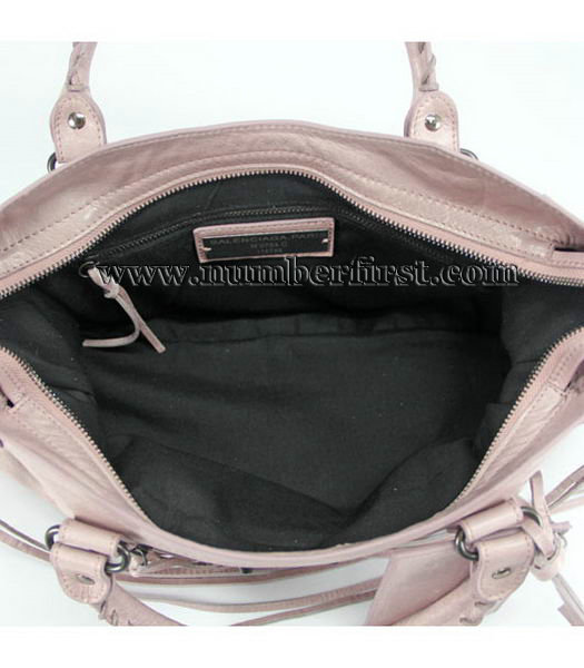 Balenciaga Motorcycle City Bag in Pink_Purple Oil-4