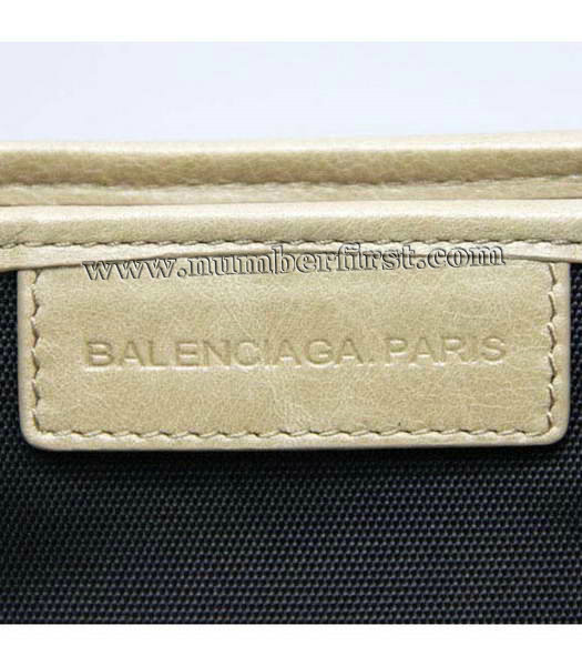 Balenciaga Canvas Tote Bag with Leather Lining in Black-5