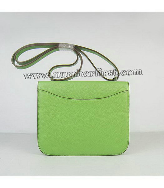 Hermes Constance Bag Silver Lock Green Togo Leather-2