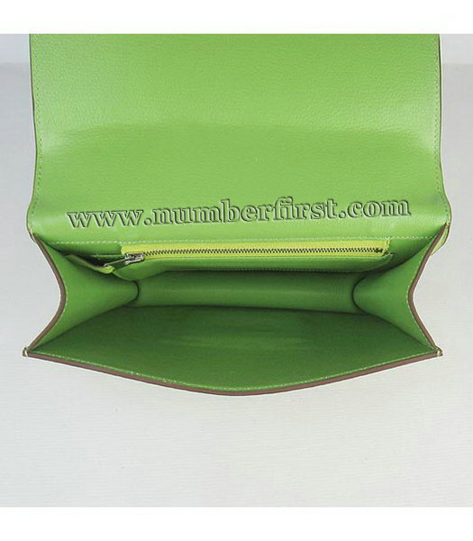Hermes Constance Bag Silver Lock Green Togo Leather-6