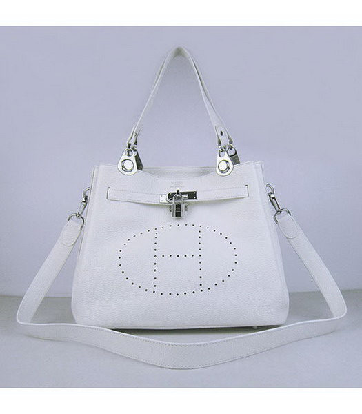 Hermes Mini So Kelly Bag White Togo Leather