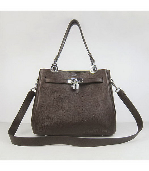 Hermes Mini So Kelly Bag Brown Togo Leather