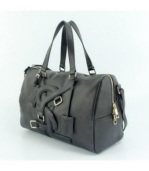 7b4774632c Yves Saint Laurent Medium Vavin Duffle Bag in Black Classic Leather-1 ...