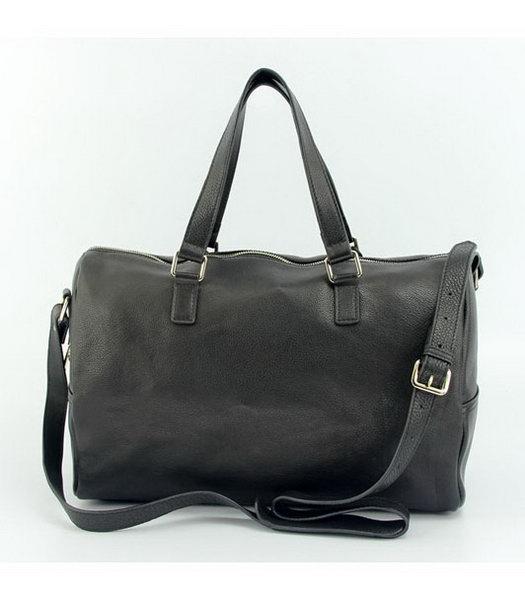 d6c1c644b8 ... Yves Saint Laurent Medium Vavin Duffle Bag in Black Classic Leather-2  ...