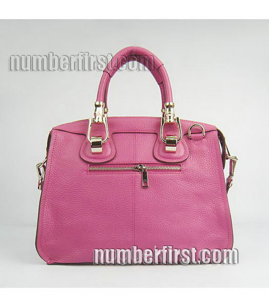 Hermes Double-duty Togo Leather Small Bag Peach-2