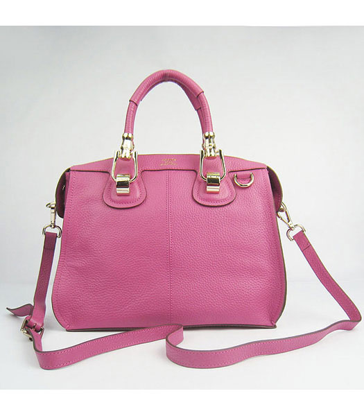 Hermes Double-duty Togo Leather Small Bag Peach