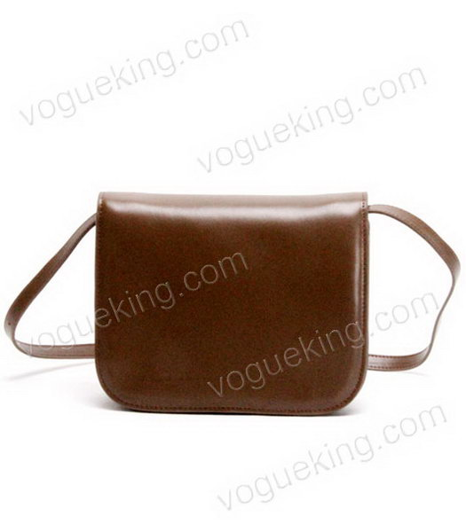 Celine New Apricot Napa Leather Handbag-2