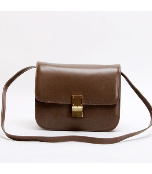 Celine New Apricot Napa Leather Handbag