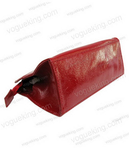 Marni Patent Leather Clutch Red _2