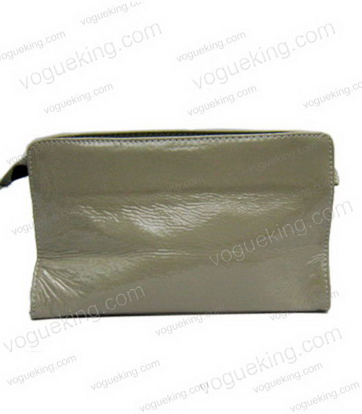 Marni Patent Leather Clutch Grey -1