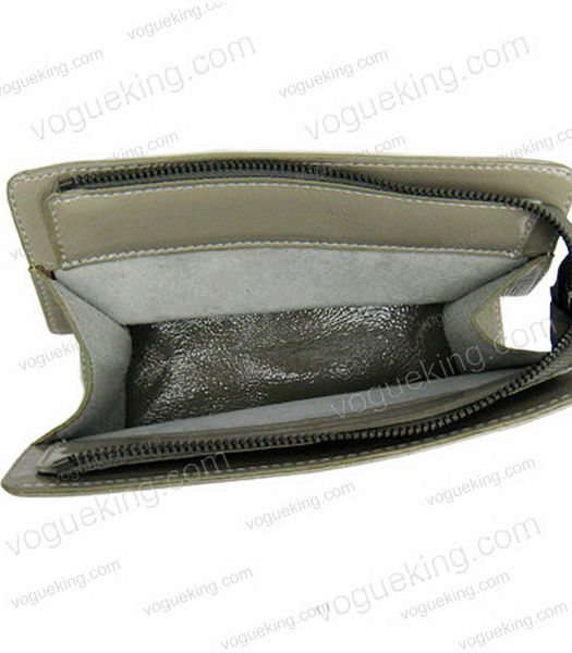 Marni Patent Leather Clutch Grey -3