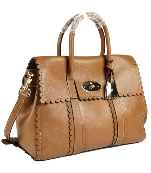 1d06470fe5 ... buy mulberry cookie bayswater light coffee soft leather bags 1 a156c  94365 ...