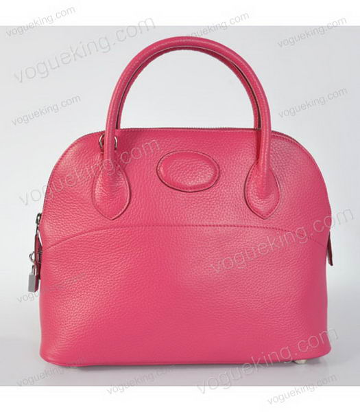 Hermes Bolide 31cm Togo Leather Small Tote Bag in Fuchsia-1