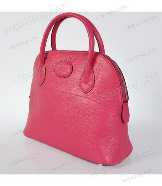 Hermes Bolide 31cm Togo Leather Small Tote Bag in Fuchsia-2