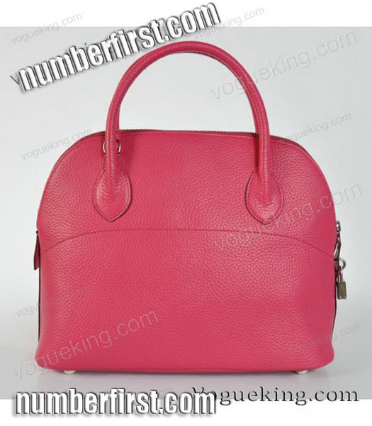 Hermes Bolide 31cm Togo Leather Small Tote Bag in Fuchsia-3