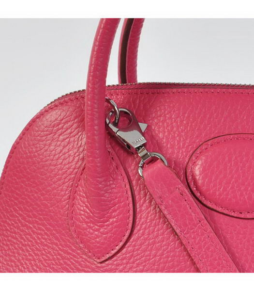 Hermes Bolide 31cm Togo Leather Small Tote Bag in Fuchsia-5