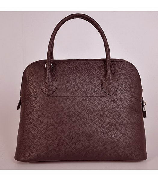 Hermes Bolide 37cm Togo Leather Tote Bag in Dark Coffee-3