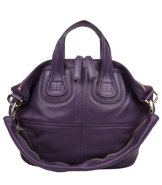 Givenchy Nightingale Small Bag Purple Leather