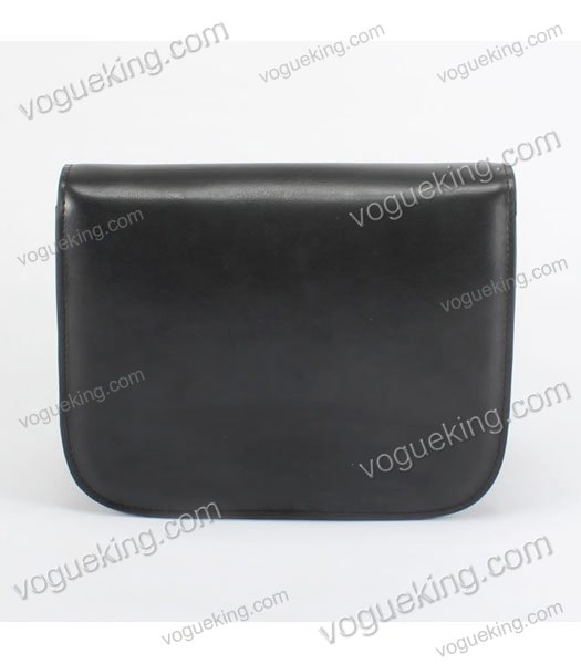 Celine Classic Box Small Flap Bag Black Calfskin Leather-2