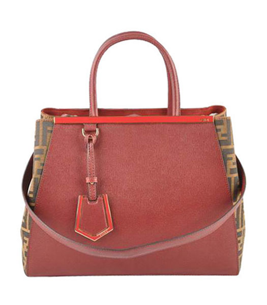 Fendi Accessories Apricot Imported Leather Small Shoulder Bag