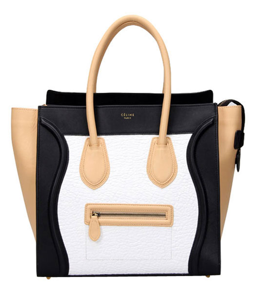 Fendi 2jours Transparent Plastic With Yellow Leather Large Tote Bag
