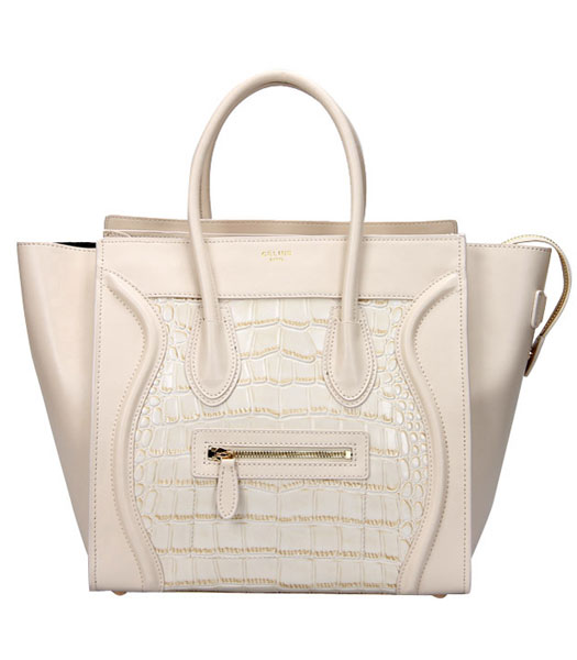 Fendi 2jours Transparent Plastic With Apricot Leather Tote Bag